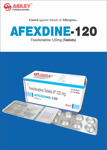 Fexofenadine HCI. 120mg Tablets