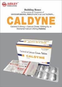 Calcium Citrate 750mg + Calcitrol 0.25mcg + Zinc 7.5mg + Magnesium 100mg Tablet