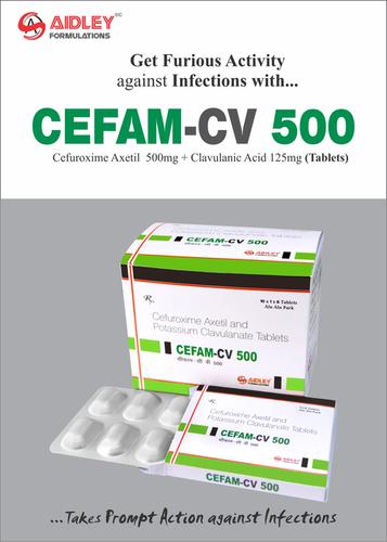 Cefam-CV 500 Tablets