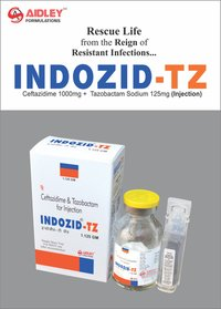 Ceftazidime 1000mg + Tazobactam Sodium 125mg Injection