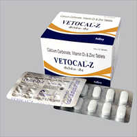 Vetocal-Z Tablets