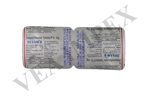 Dexam 8 mg tablets