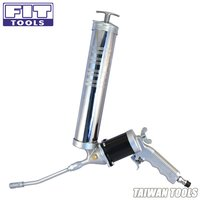 360 Degrees Rotating and Continuous Flow Air Grease Gun