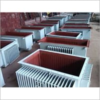 Corrugated fin wall panel for transformers