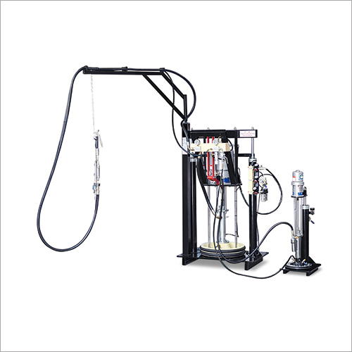 Pneumatic High Efficiency Double Group Sealant Extruder