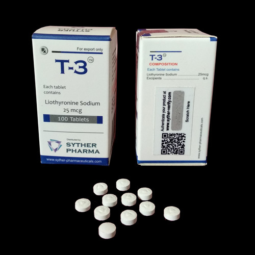 Liothyronine Sodium 25 Mcg