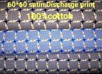 Shirting Satin Discharge Printed Fabric 58