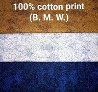 Shirting Printed  Fabric (B.M.W) 58