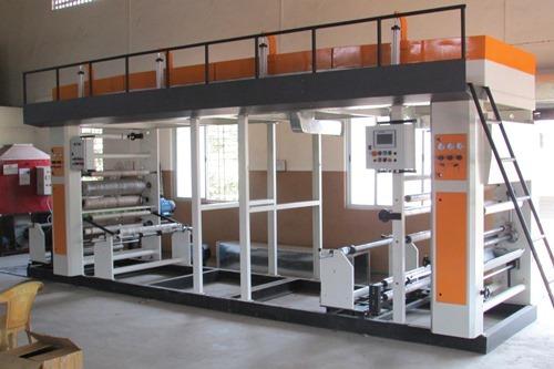 Solvent Base Lamination Machine