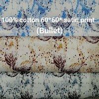 Shirting  Satin Printed Fabric (Bullet) 58