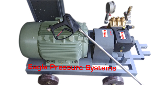 High Pressure water jet pump system 21LPM@500 bar