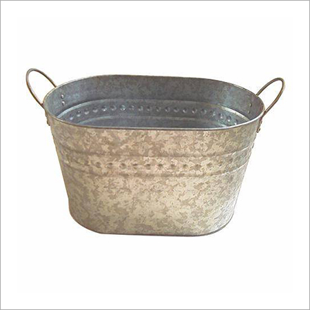 Galvanized Oval Shape Bucket