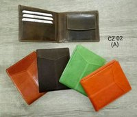 Multi Color Leather Wallets