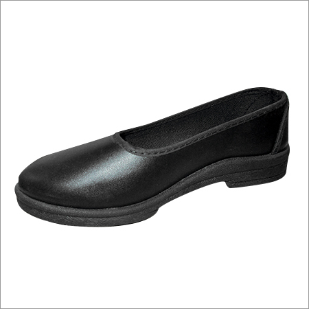 Girls Black School Shoes
