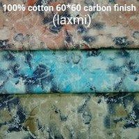 Shirting Fabric in Carbon Finish (Laxmi) 58