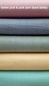 Shirting  Tallent Pick & Pick Yarn Dyed Dobby Fabric 58