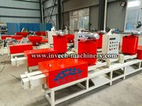 145mm Size Wood Sawdust Block  Extruding Machine