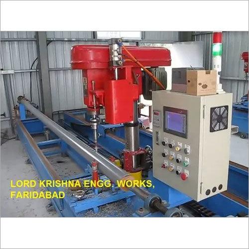 PVC Pipe Perforating Machine