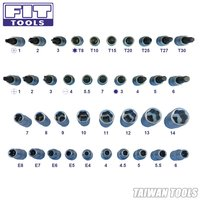 FIT 50 pcs 1-4 Drive Socket Set