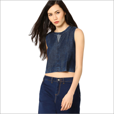 Ladies Denim Top