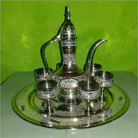 Brass Aftab Set
