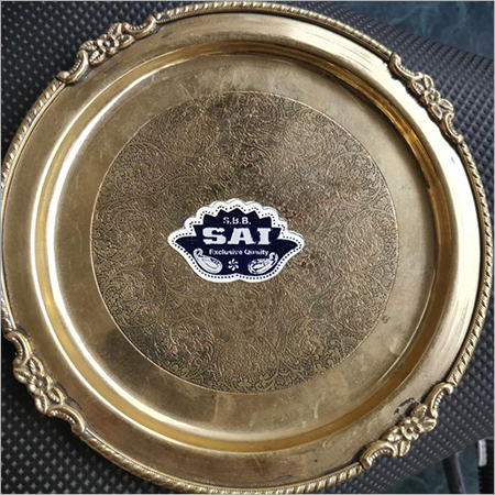 Brass Decorative Thali