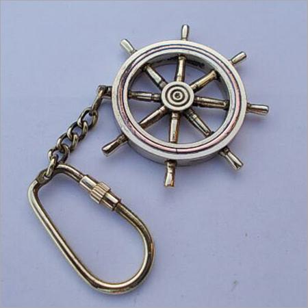 Brass Nautical Key Chain