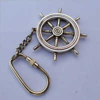Brass Nautical Key Chain