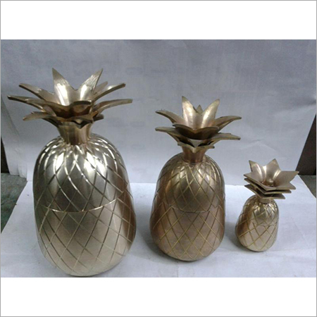 Brass Pineapple set