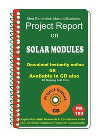 Solar Modules Manufacturing Project Report eBook