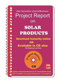 Solar Products Manufacturing Project Report eBook
