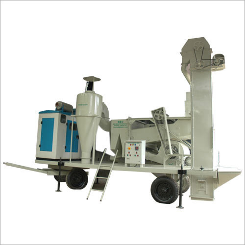 Automatic Mobile Seed Processing Machine