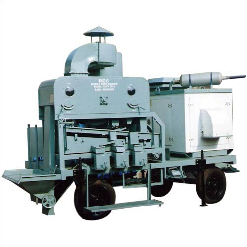 Semi Automatic Mobile Seed Processing Machine