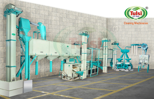 Fully Automatic Atta Chakki Plant With Multipurpose Cleaning & Grading