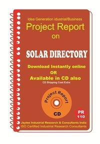 Solar Directory DOC Manufacturing Project Report eBook