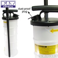 FIT TOOLS 6.5L Manual Operation Brake Oil or Fluid Extractor Bleeder