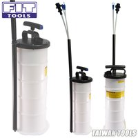 FIT TOOLS 6.5L Manual Operation Oil or Fluid Extractor Bleeder