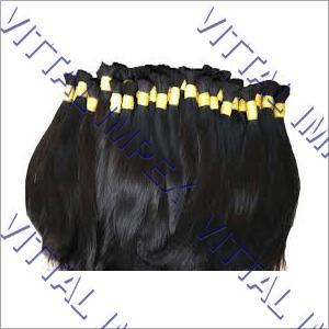 Braiding loose hairs