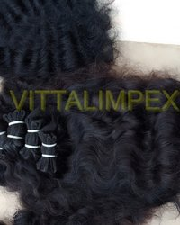 Temple Natural Wavy Hairs
