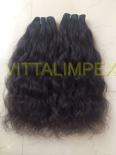 Double weft hairs