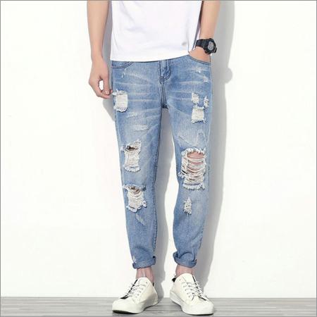 Mens Torn Jeans