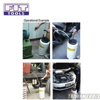FIT TOOLS 15L Manual Operation Oil or Fluid Extractor