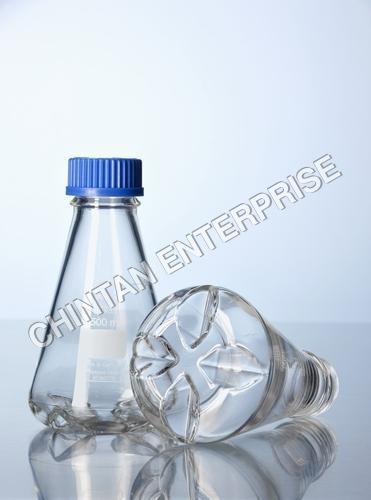 Baffled Flask & Bottles Duran