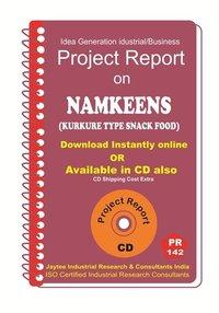 Namkeens (Kurkure Type Snack ) manufacturing PR eBook