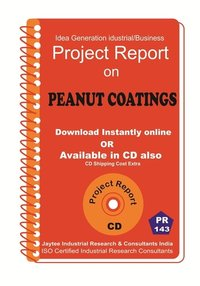 Peanut Coatings manufacturing Project Report eBook