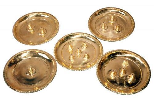 Pancha Arathi Plate