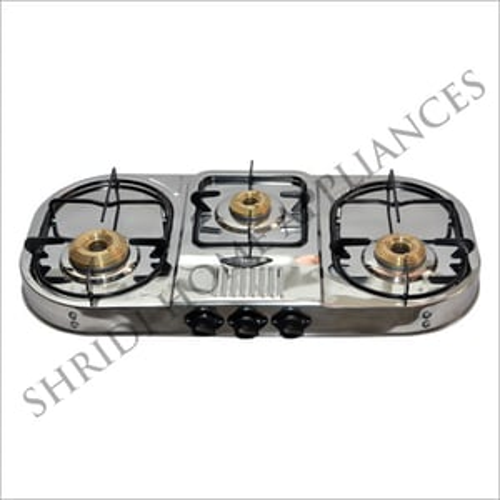 Three Burner SS Gas Stove
