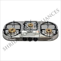 Three Burner SS Gas Stove