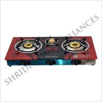 Customized Three Burner Gas Stove