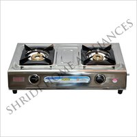 Shirdi Flame Two Burner Gas Stove